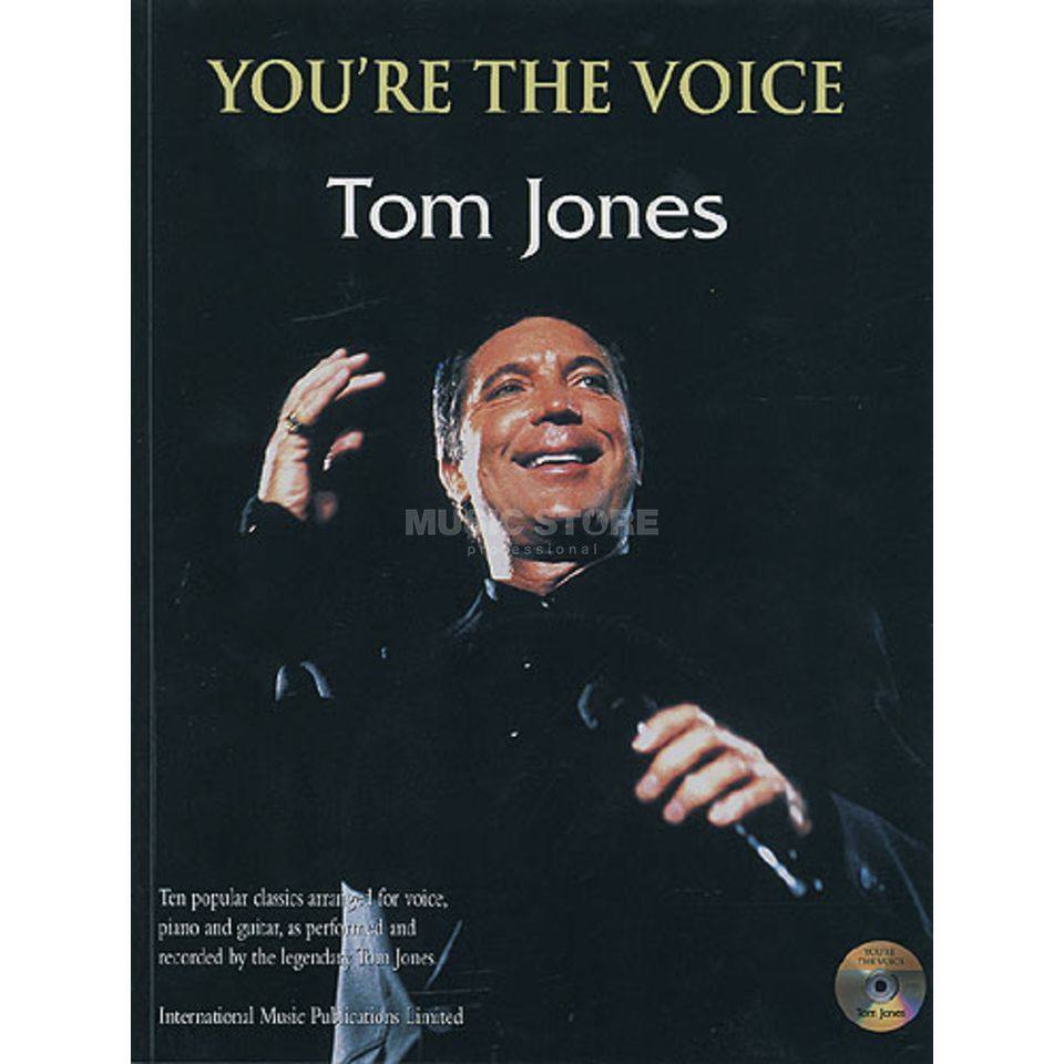 Faber Music You're the voice - Tom Jones mit Playback CD, PVG Produktbild