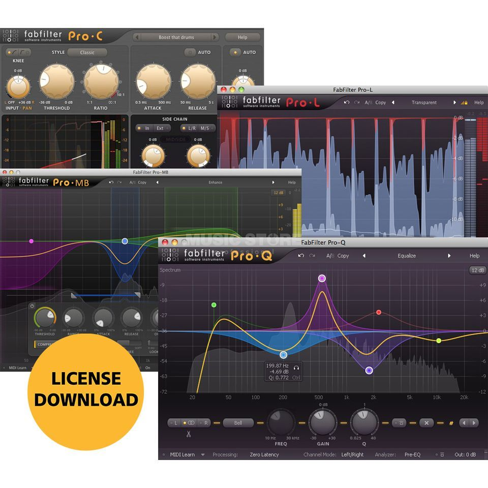 Fabfilter Mastering Bundle (DOWNLOAD) Produktbild