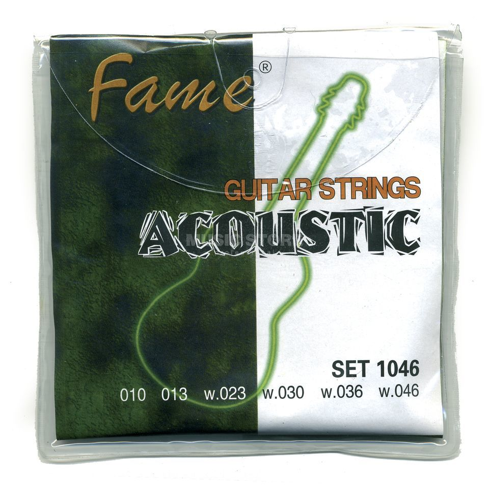 Fame A-Guitar Strings,10-46 round wound Produktbillede
