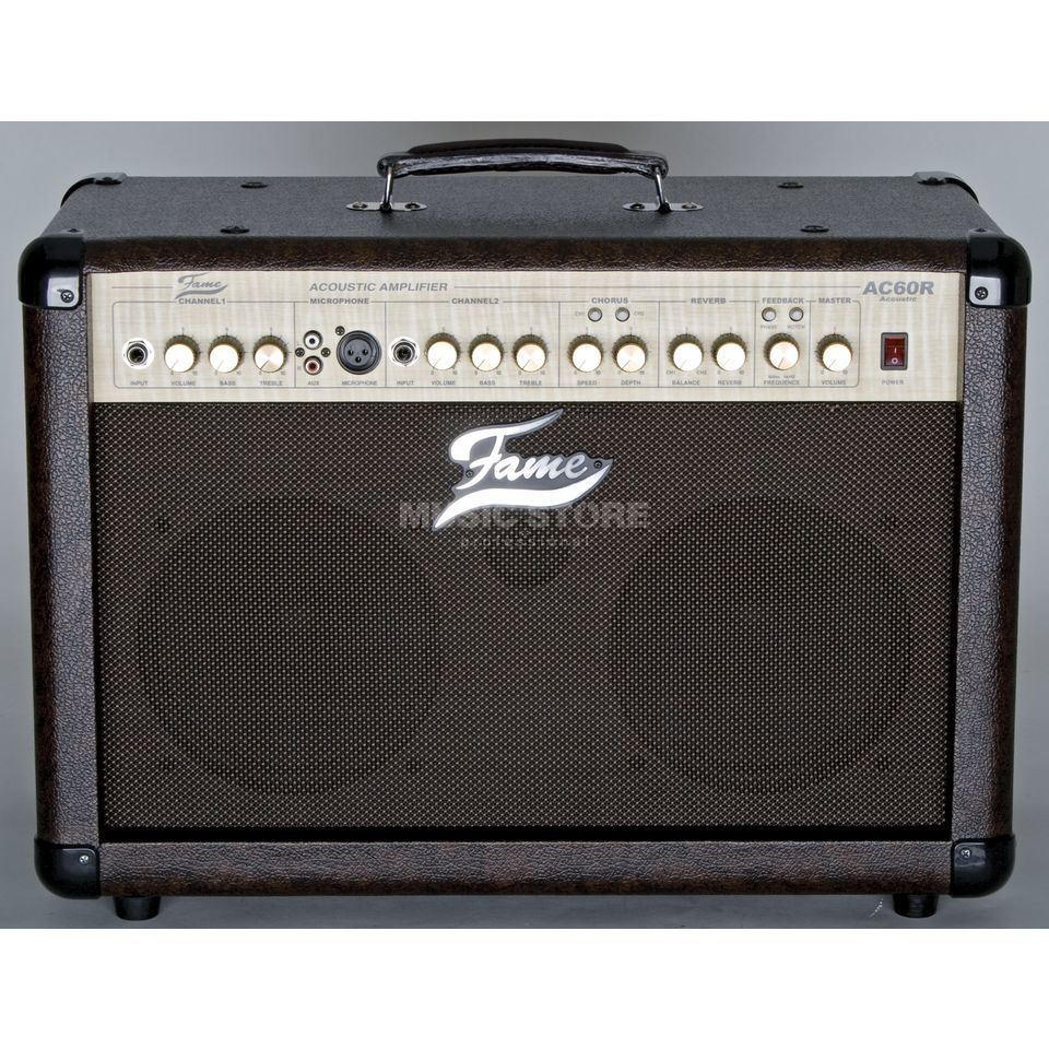 "Fame AC 60R 60 Watts Combo 2x8"" Speaker, 2 Channels Produktbillede"