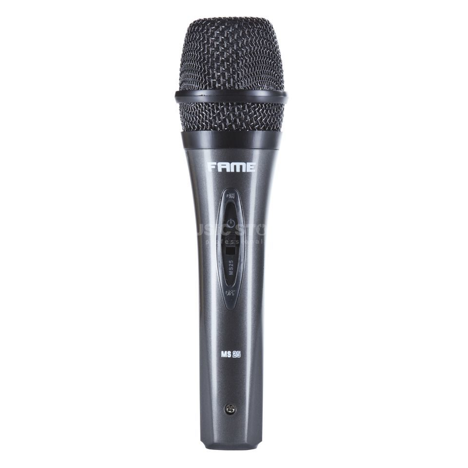 Fame audio MS 25 Dynamic Vocal Microphone incl. Case and Cable Imagen del producto
