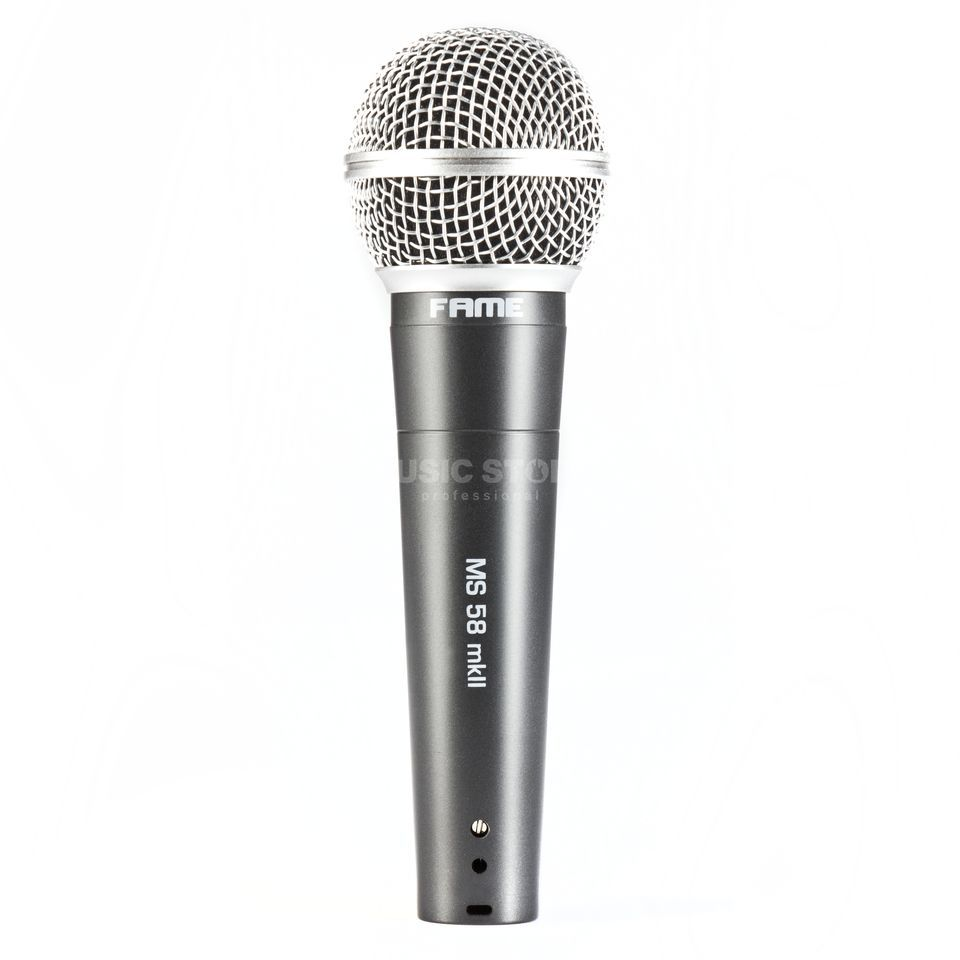 Fame audio MS 58 MKII dynamic Vocalmicrophone Product Image