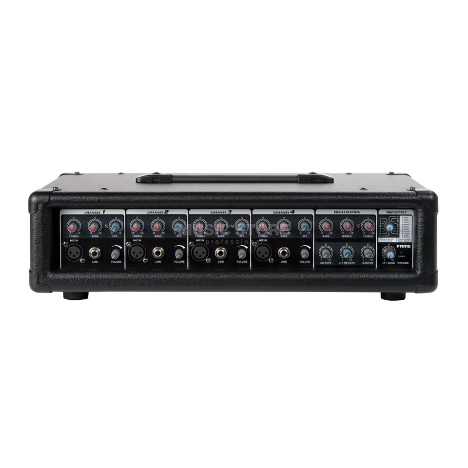 Fame audio PM 400 Powermixer 2x 75W / 4 Ohm, DSP Product Image