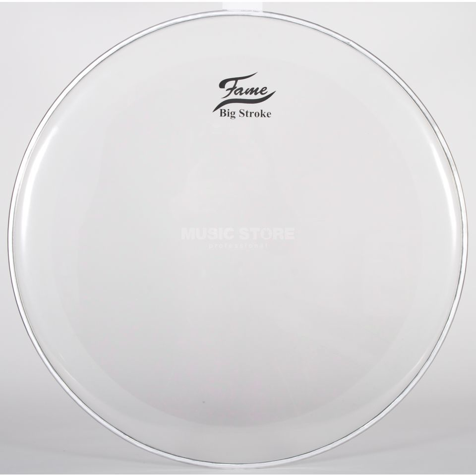 "Fame Bass Drum Head BigStroke, 20"", hydraulic, clear Produktbillede"