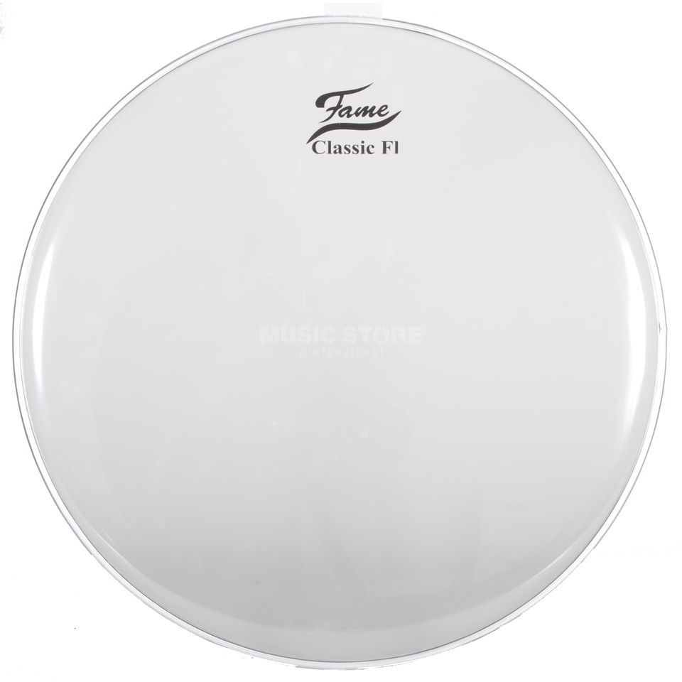 "Fame Bass Drum Head Classic F1 24"", clear Produktbillede"