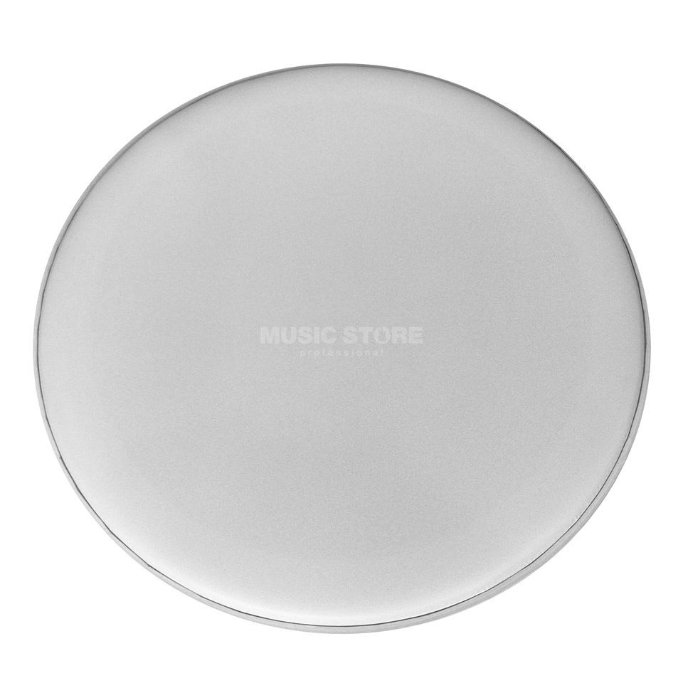 "Fame Bass Drum Head SC1 22"", Coated White, Sound Control, w/o Logo Product Image"