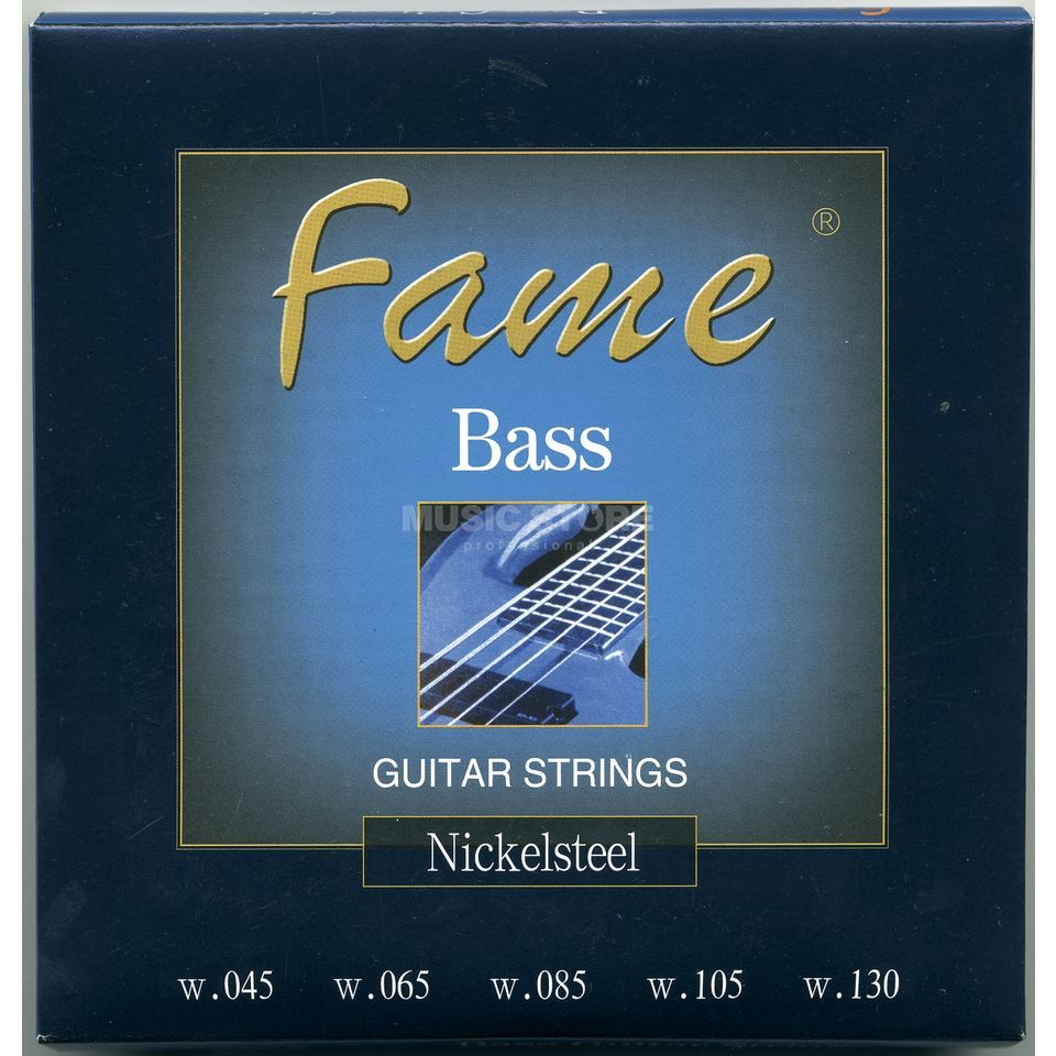 Fame Bass Saiten,5er,45-130 Nickel Plated Steel Produktbild