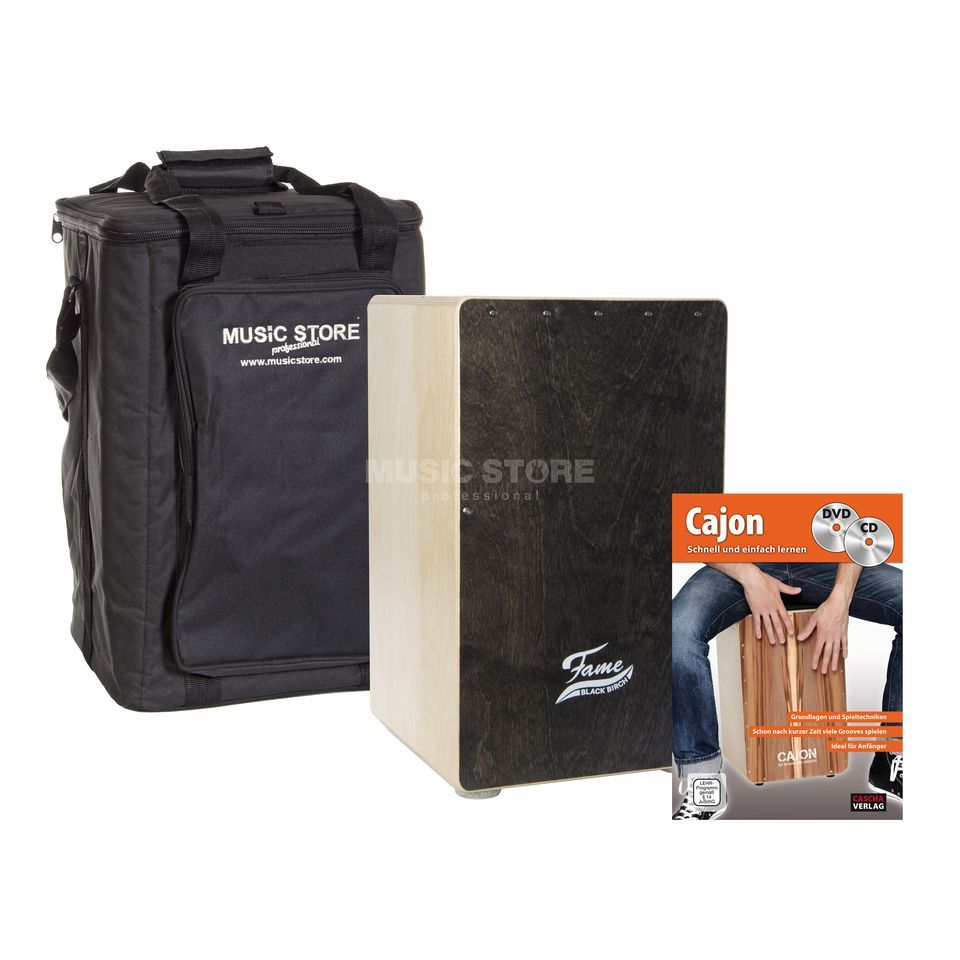 FAME Black Birch Cajon + Bag - Set Produktbild