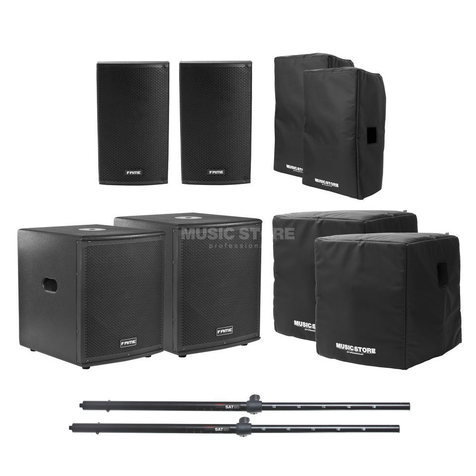 Fame Challenger Stage Pack 1 Set Dv247 Sound System Product Image