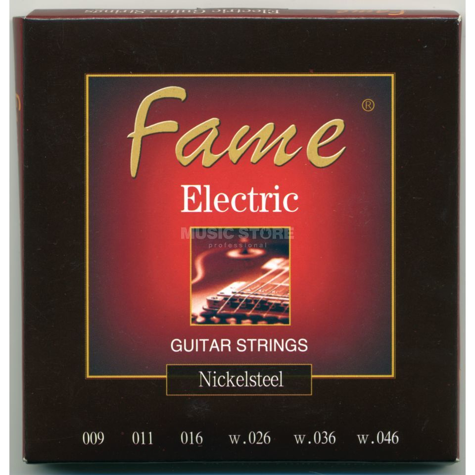 Fame E-Guitar Strings,09-46 round wound Produktbillede