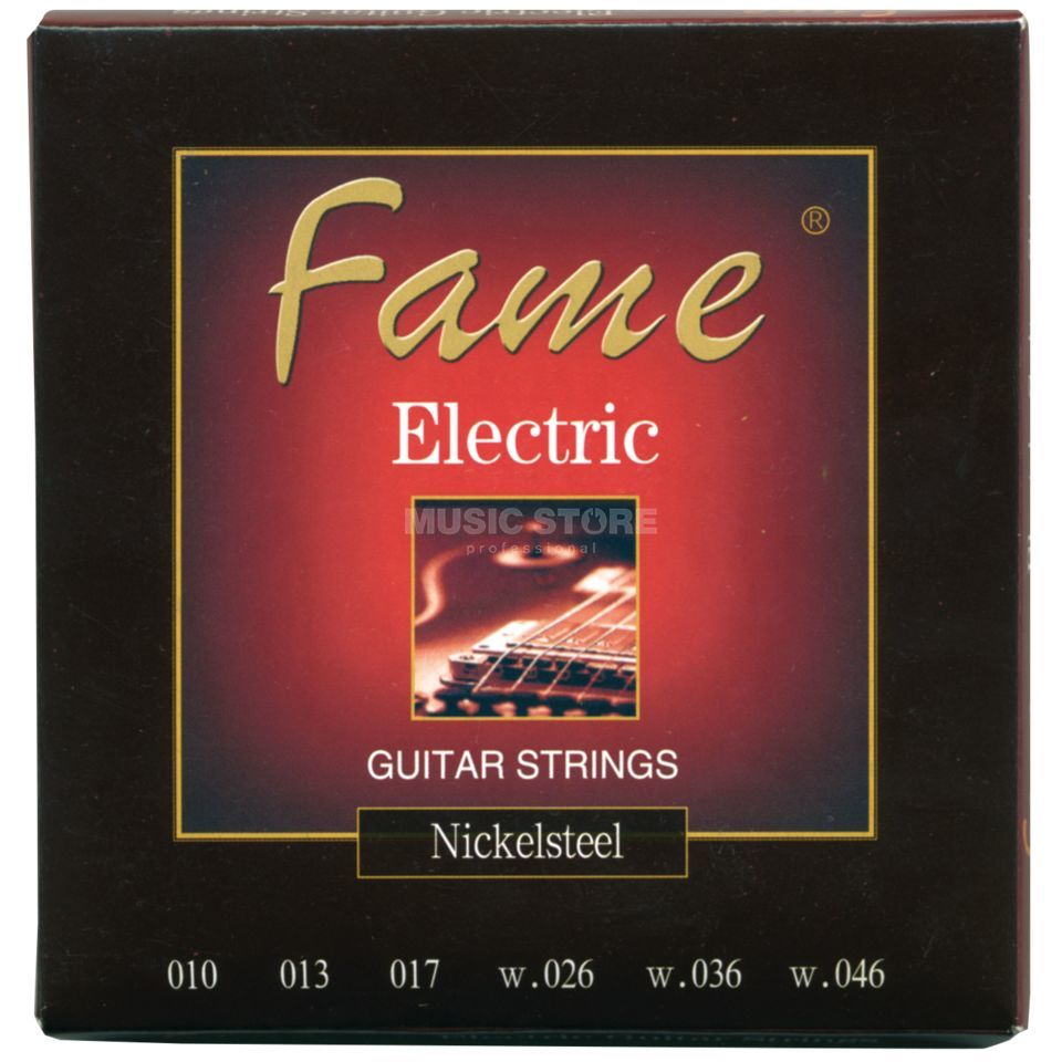 Fame E-Guitar Strings, 10-46 Round Wound Produktbillede