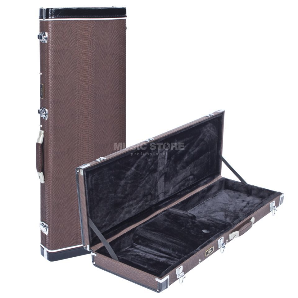 Fame EG-8 Electric Guitar Case Brown Produktbild