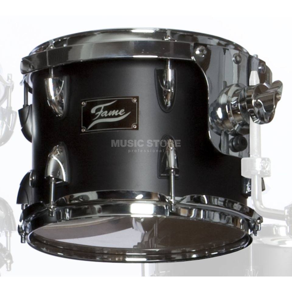 "Fame FBP Tom 10""x8"", #Matt Black Produktbild"