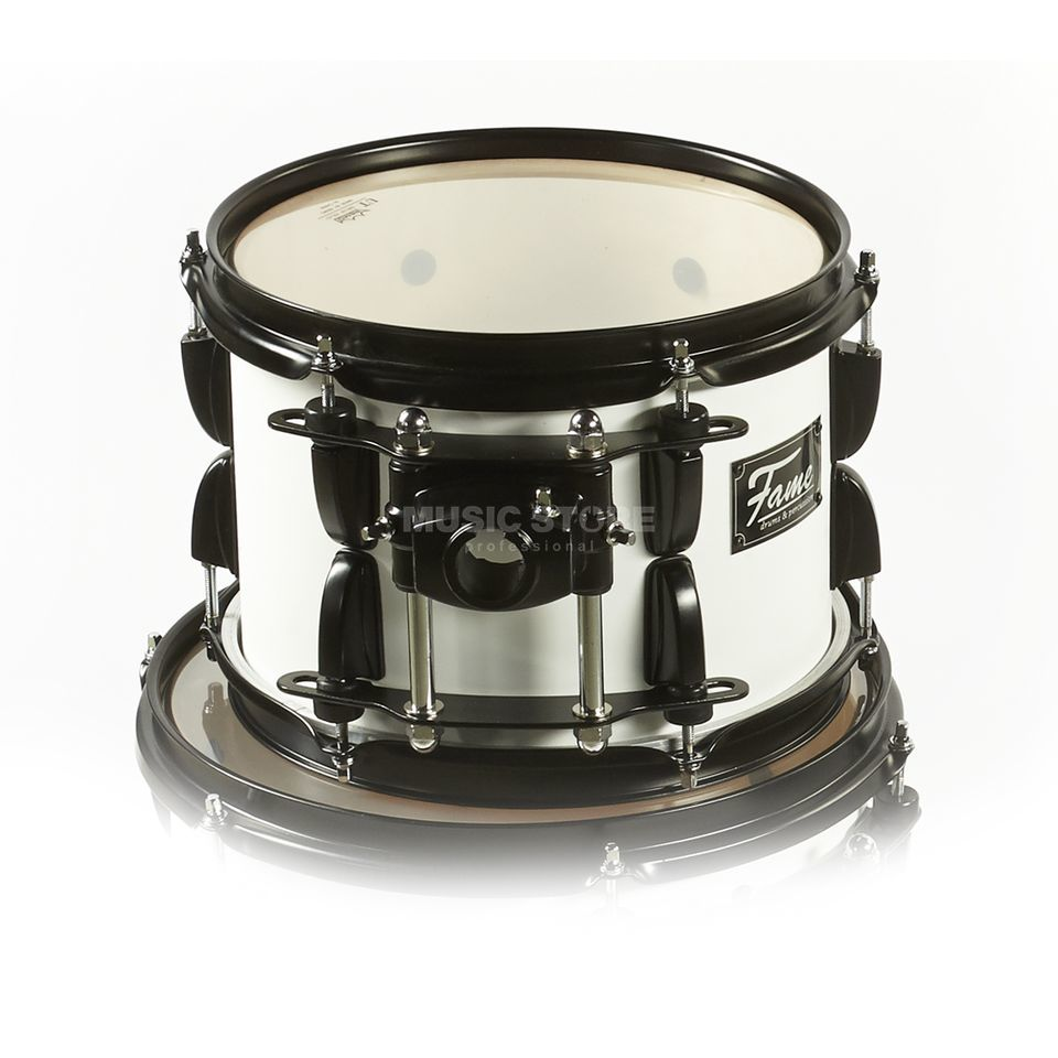 "Fame Fire Tom 12""x8"", #Matte White Product Image"