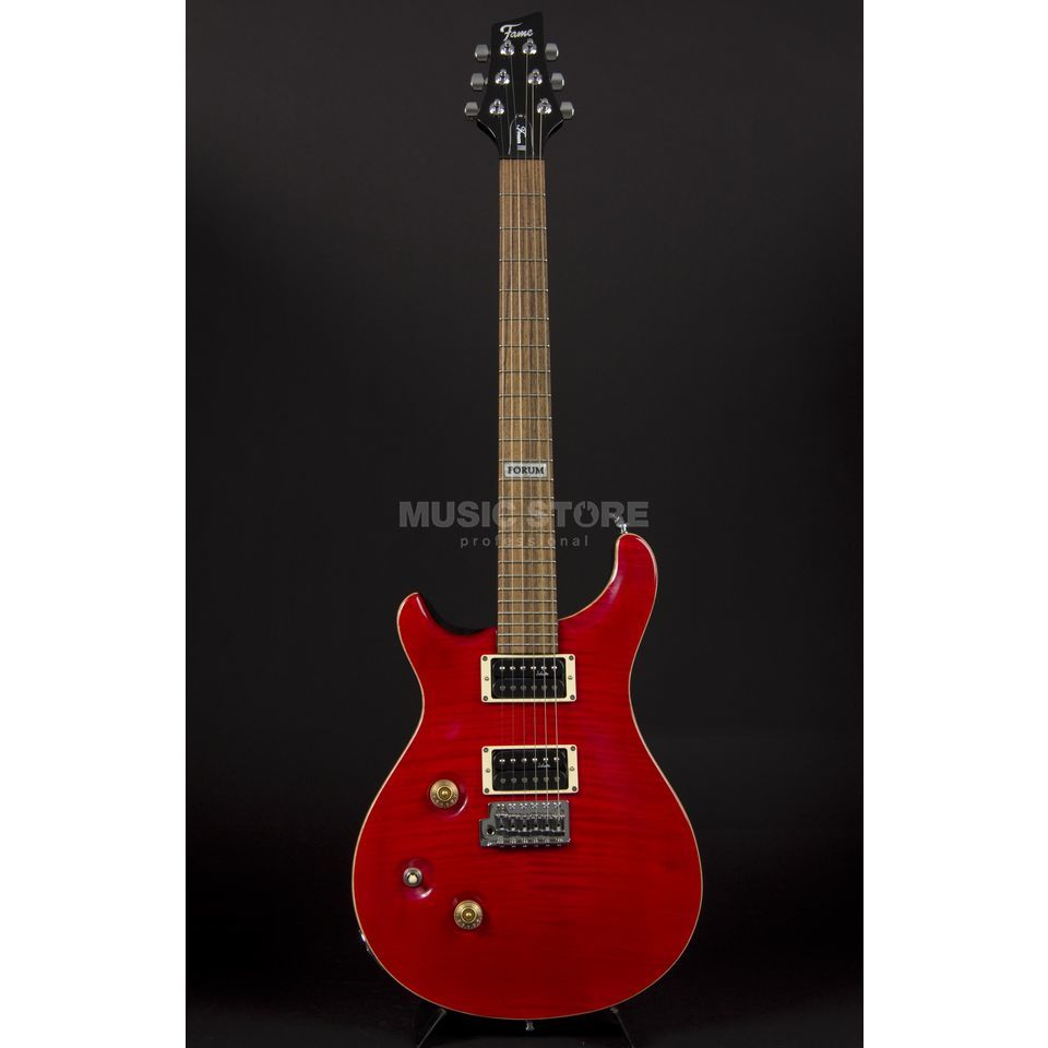 Fame Forum III Lefthand Transparent Red Product Image