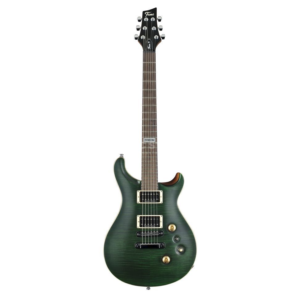 Fame Forum IV Satin Emerald Green Produktbillede