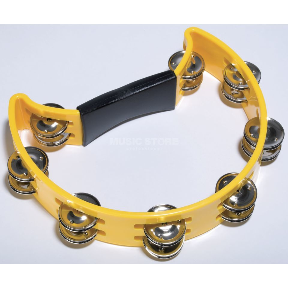 Fame Hand Tambourine Yellow Produktbillede