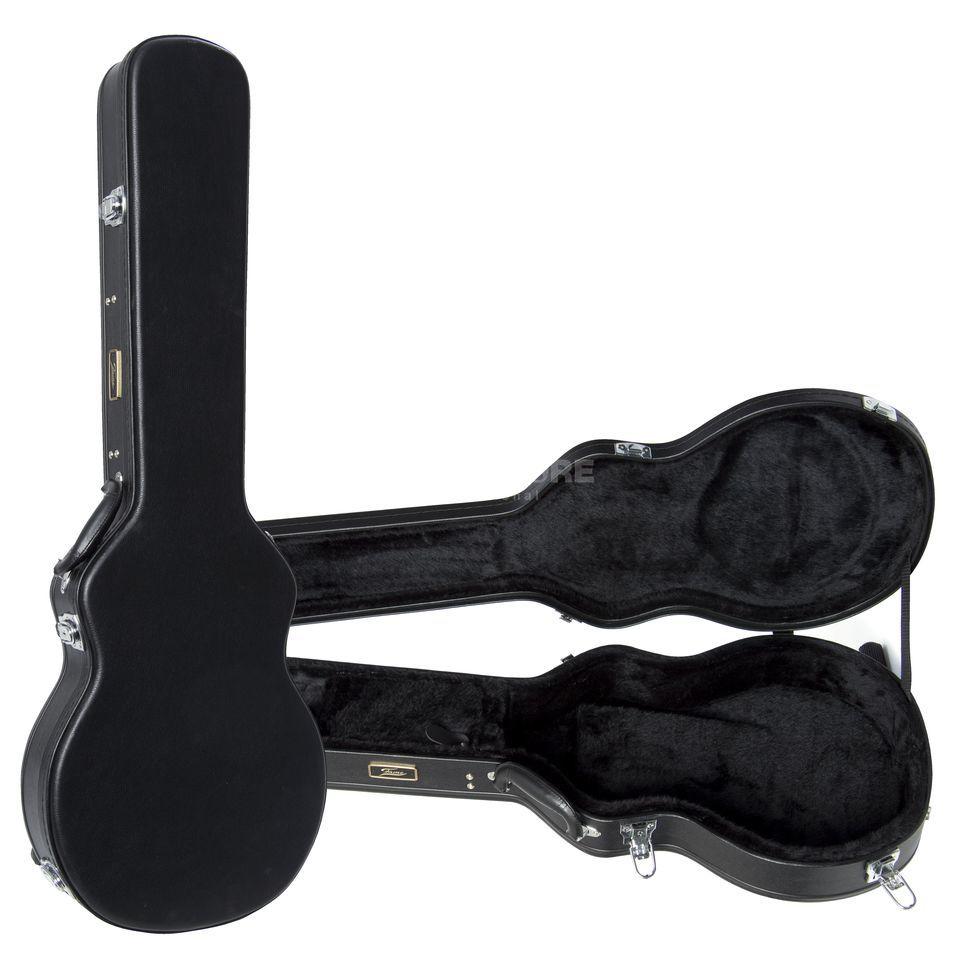 fame hard case lp style electric guitar dv247 en gb. Black Bedroom Furniture Sets. Home Design Ideas