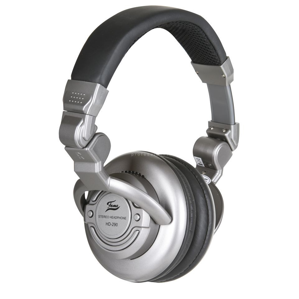 Fame HD 290 Closed Back Studio  Headphones Produktbillede