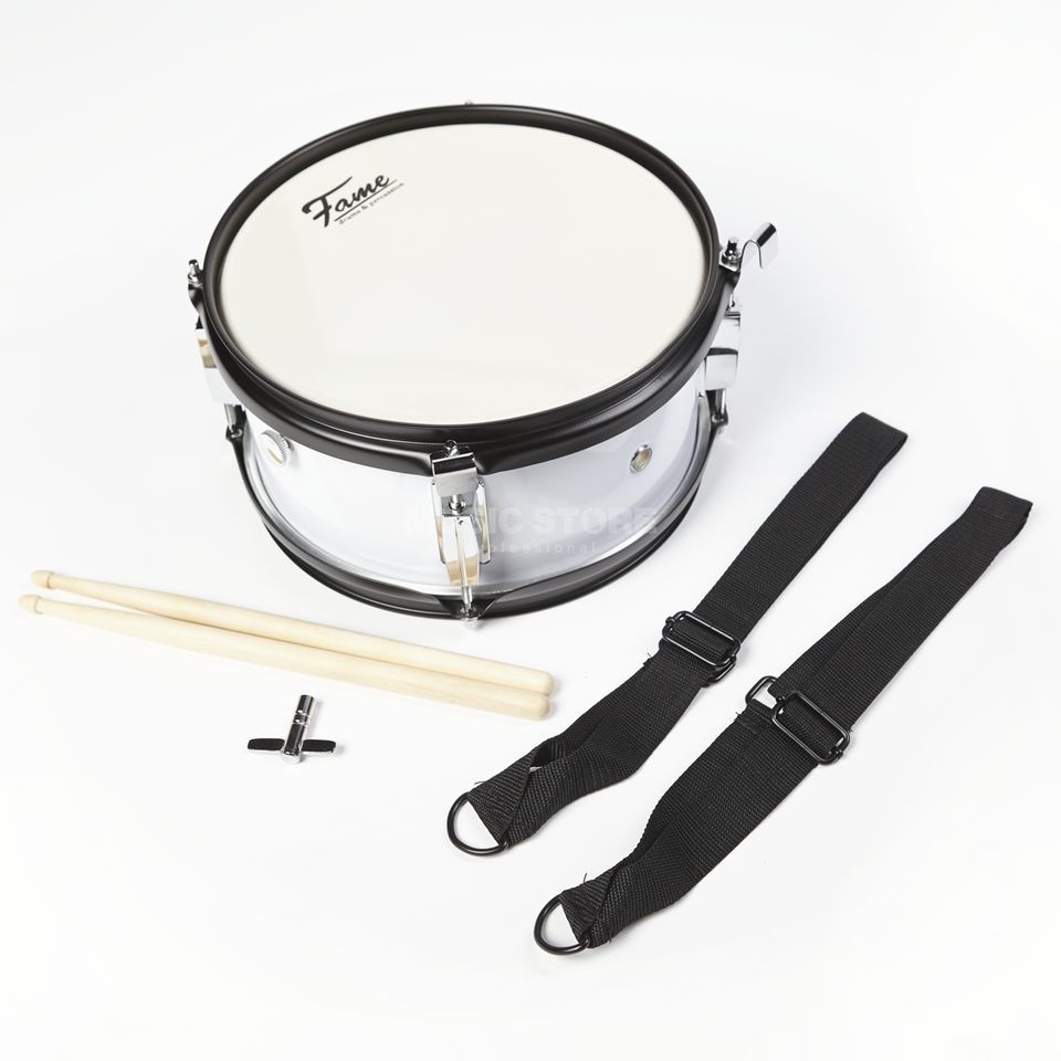 "Fame Junior Marching Snare 10""x5"" inkl. Gurt und Sticks Immagine prodotto"