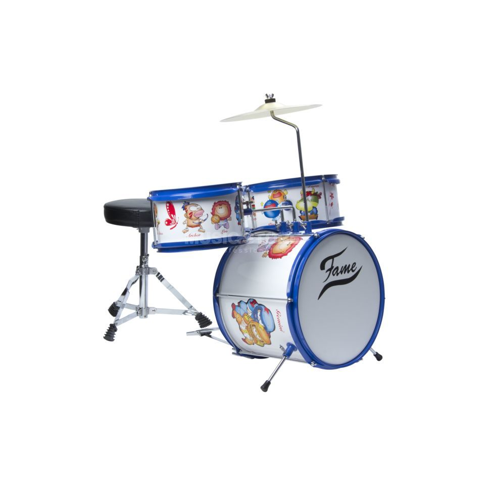 Fame Kiddyset 3 PC Junior Drumset  Produktbillede