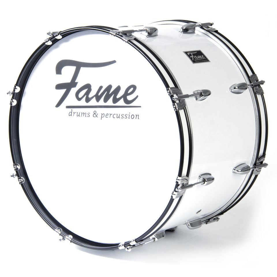 "Fame Marching BassDrum 18""x12"", with Tragegurt & Beater Produktbillede"