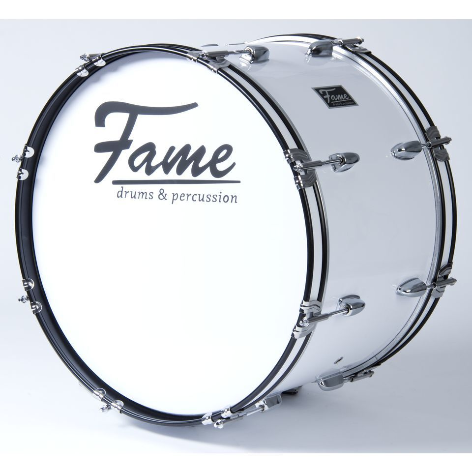 "Fame Marching BassDrum 20""x12"", with Tragegurt & Beater Produktbillede"