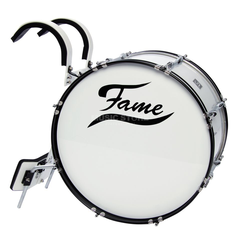 "Fame Marching BassDrum 22""x12"", incl. Carrier Produktbillede"