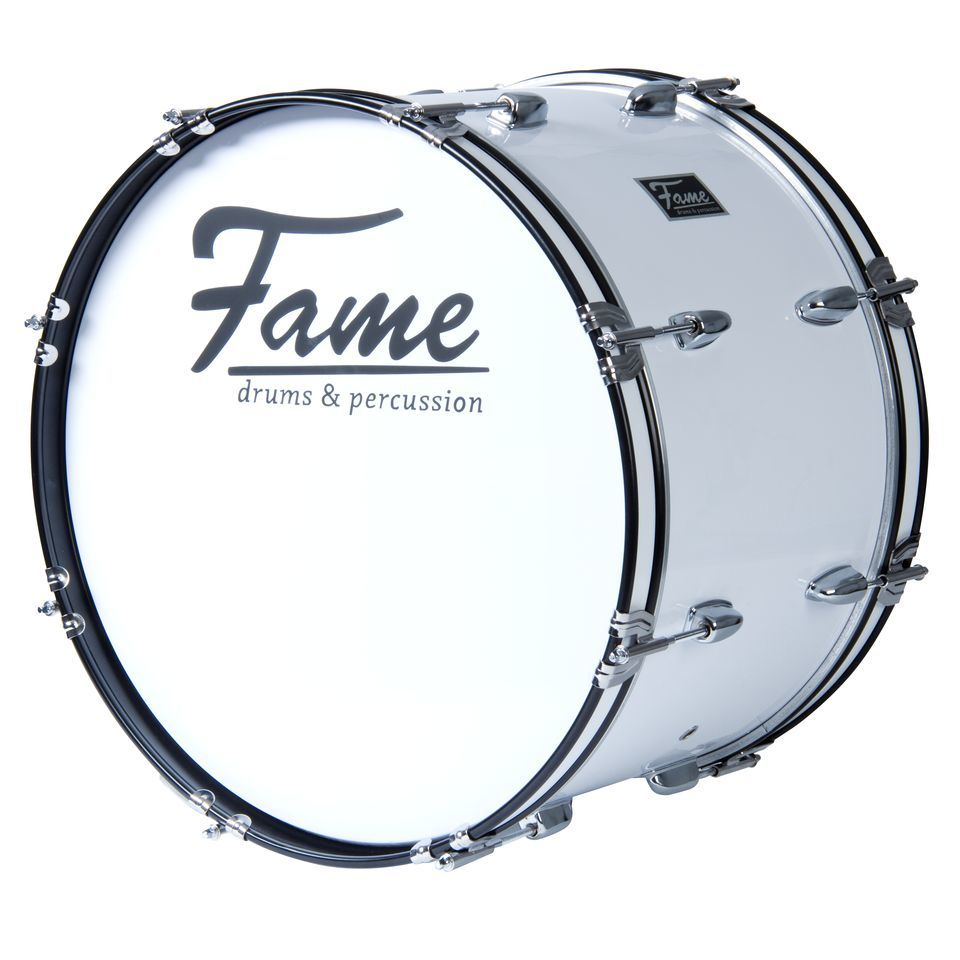 "Fame Marching BassDrum 22""x12"", with Tragegurt & Beater Product Image"