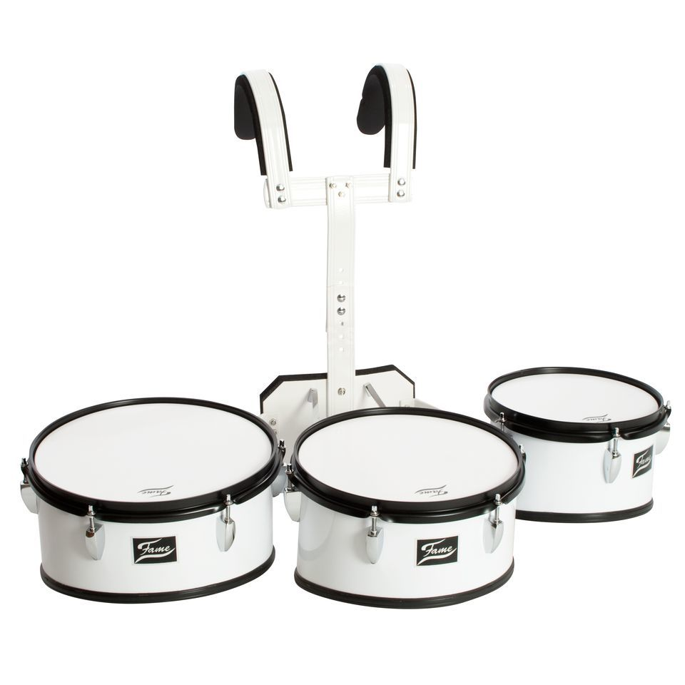 "Fame Marching TimpTom Set, 10"", 12"", 13"" Product Image"
