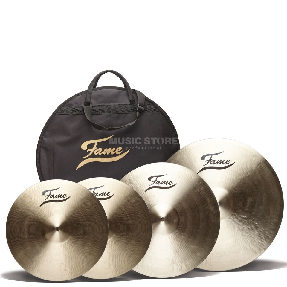 Fame Masters B20 Cymbal Set I, Natural Finish Produktbild