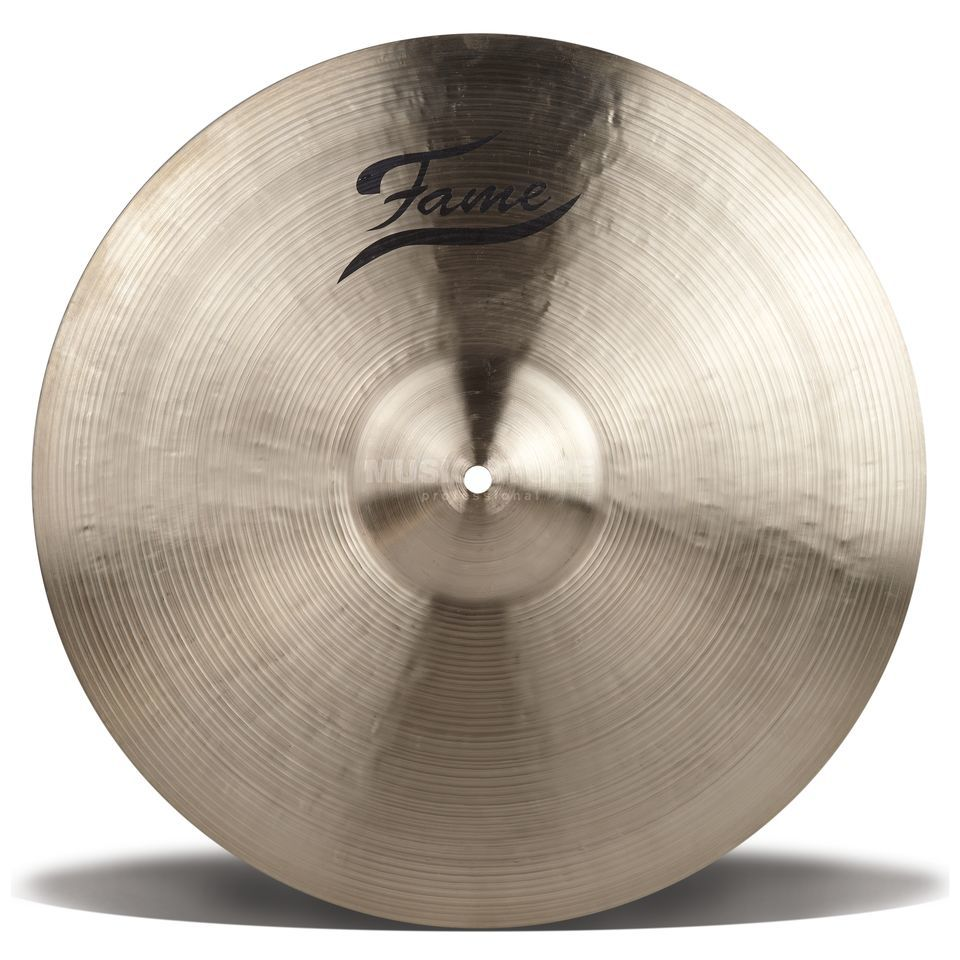 "Fame Masters B20 Heavy Crash 17"", Natural Finish Produktbillede"