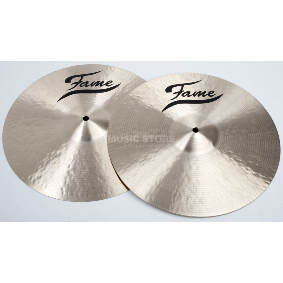 "Fame Masters B20 Heavy HiHat 14"", Natural Finish Produktbillede"