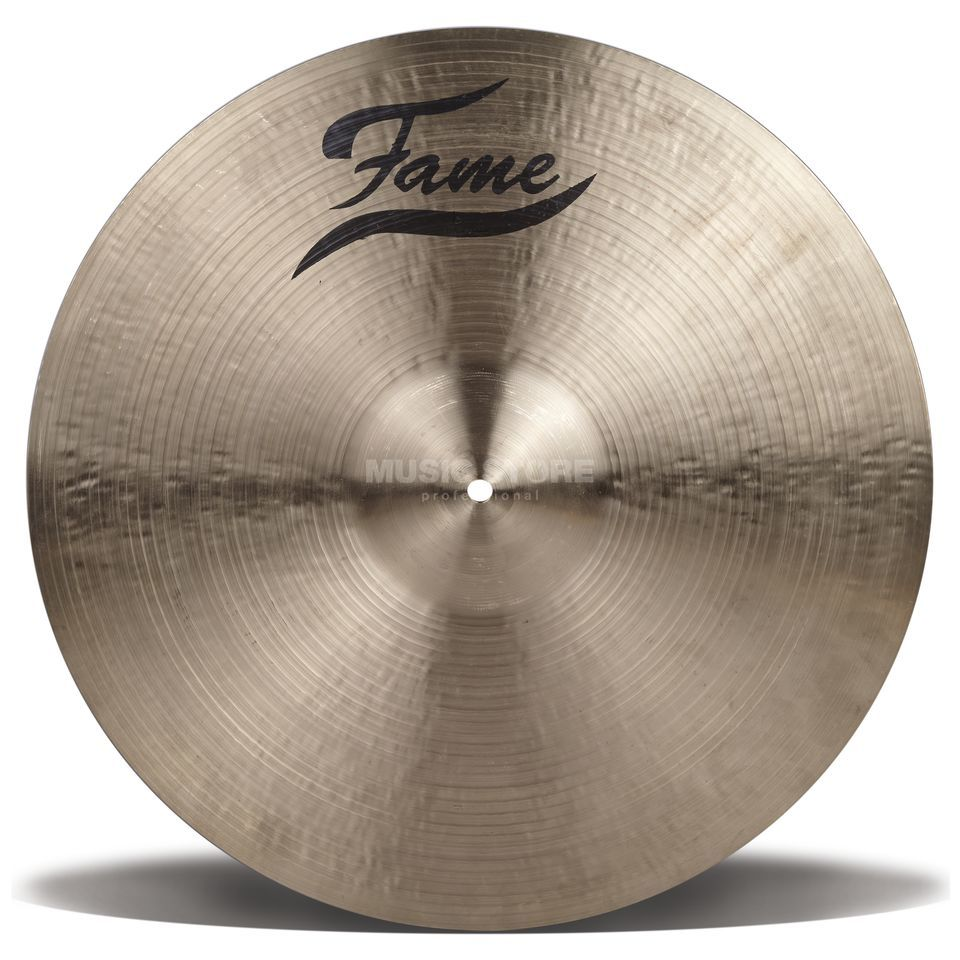 "Fame Masters B20 Heavy Ride 20"", Natural Finish Produktbillede"