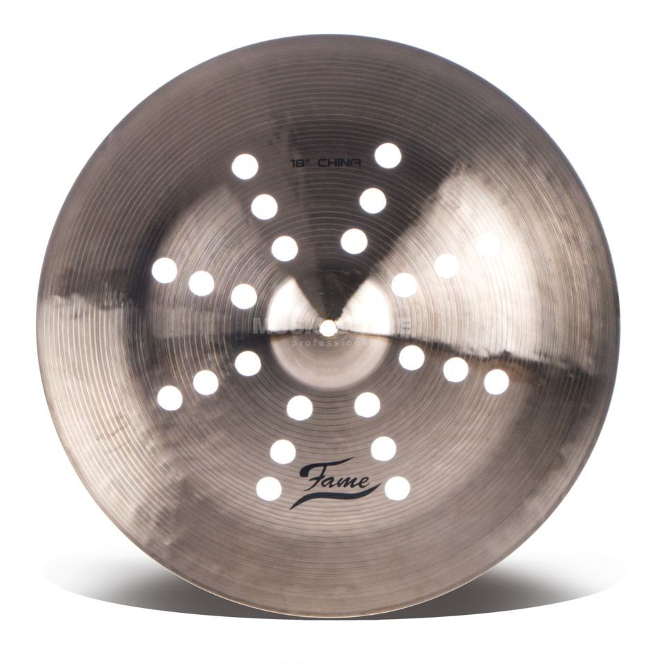 "Fame Masters B20 Holey China 18"" Natural Finish Produktbild"
