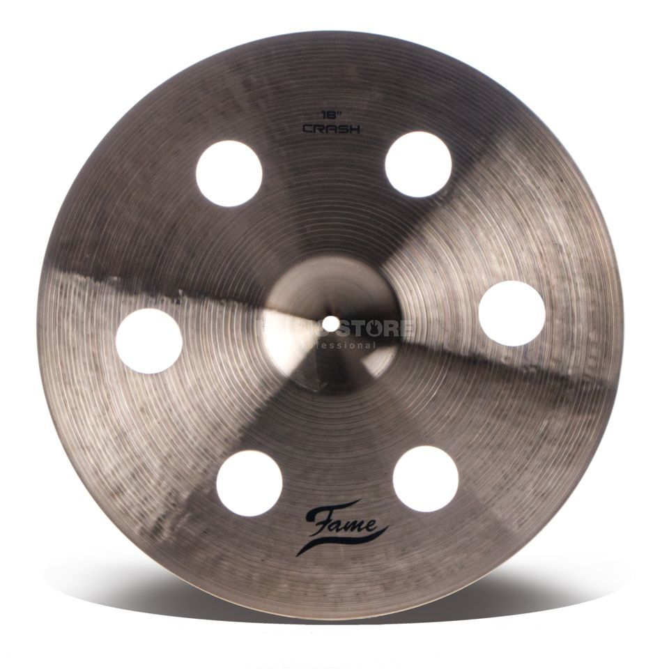 "Fame Masters B20 Holey Crash 18"" Natural Finish Produktbillede"