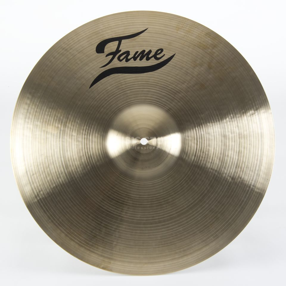 "Fame Masters B20 Medium Ride 22"", Natural Finish Produktbild"