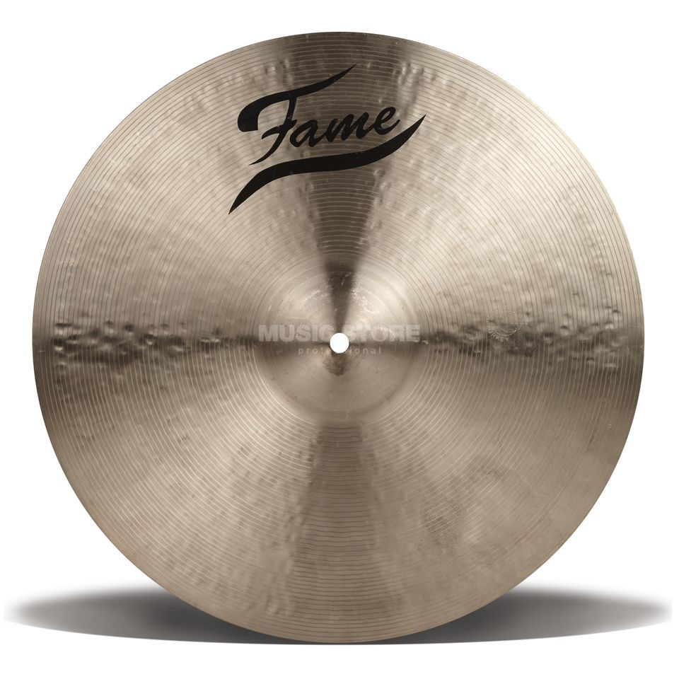 "Fame Masters B20 Thin Crash 17"", Natural Finish Produktbillede"