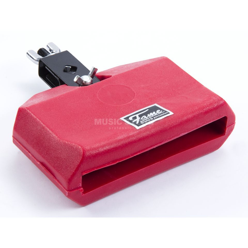 Fame Percussion Block, red Kunststoff Produktbild