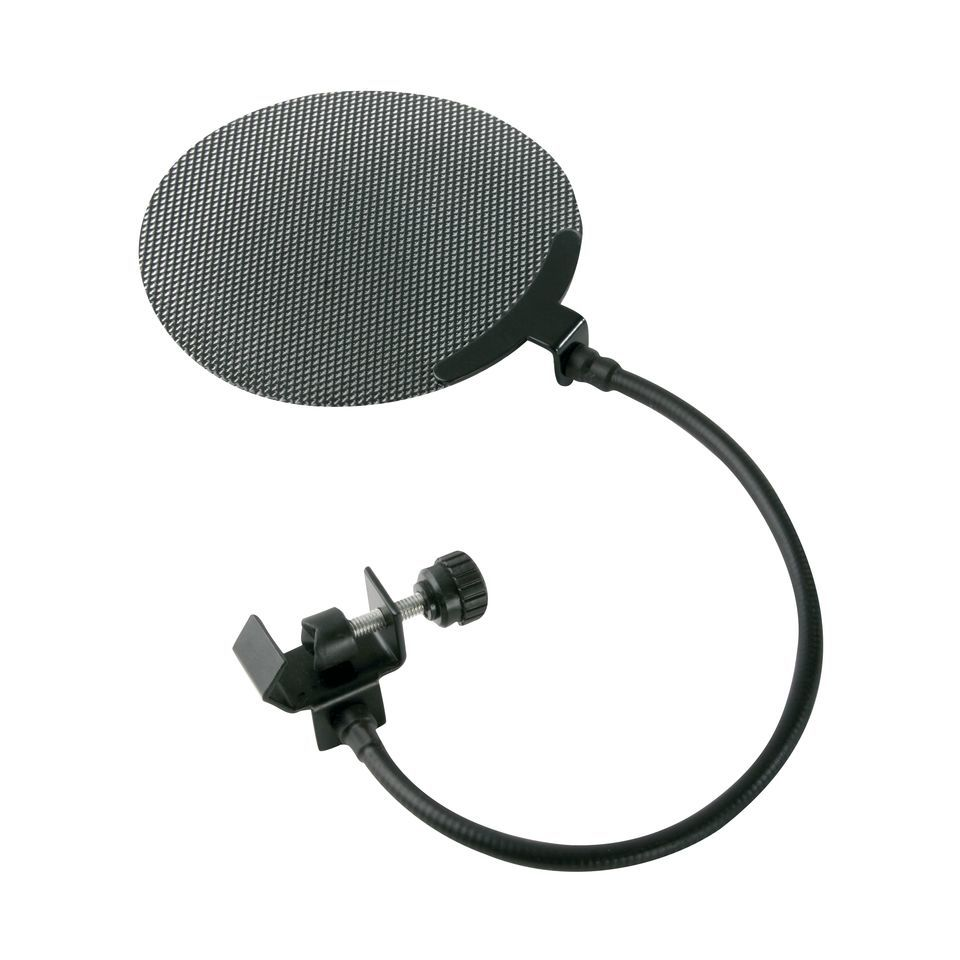 Fame PF 130 Microphone  Pop Filter / Fine Metal Grid Produktbillede