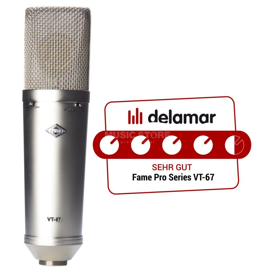 Fame Pro Series VT-67 Tube Microphone Product Image