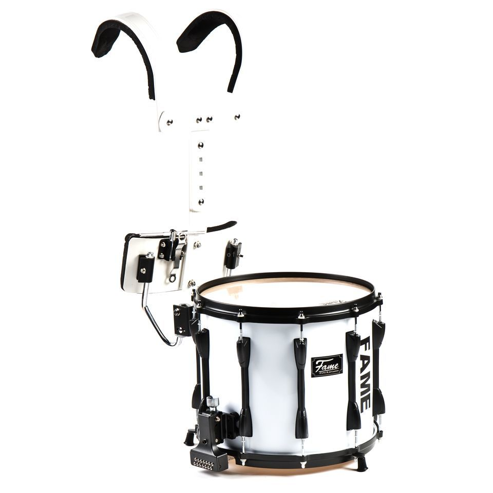 "Fame Prof.B Marching Snare 14x12"" Birch, incl. Carrier Produktbillede"