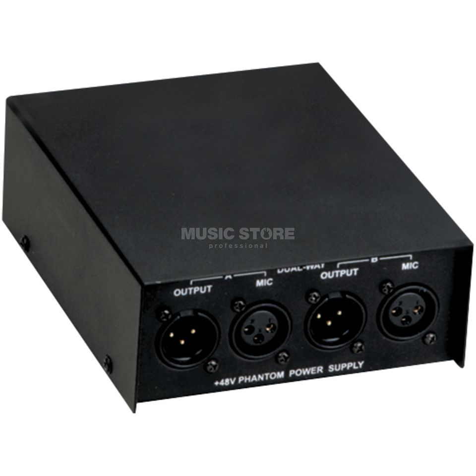 Fame SKEE302 48v Phantom supply 2-Channel,Power Supply Produktbillede