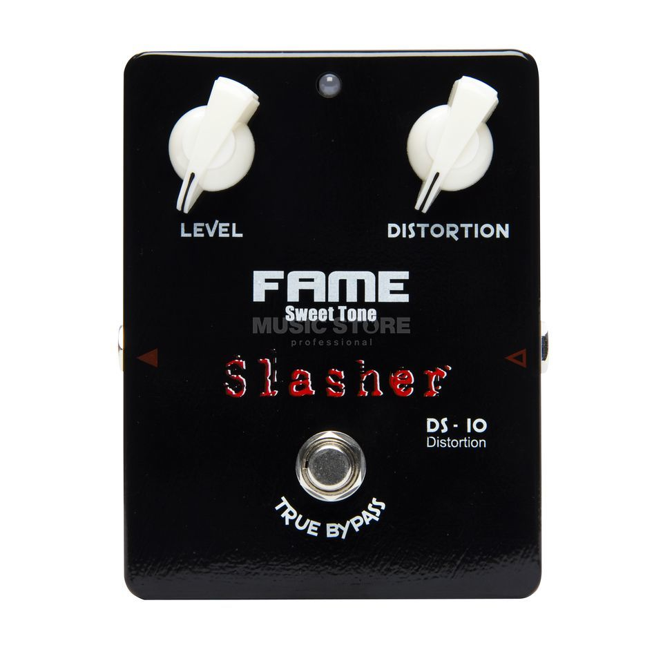 "Fame Sweet Tone Distortion DS-10 BL Slasher ""Black Edition"" Produktbillede"