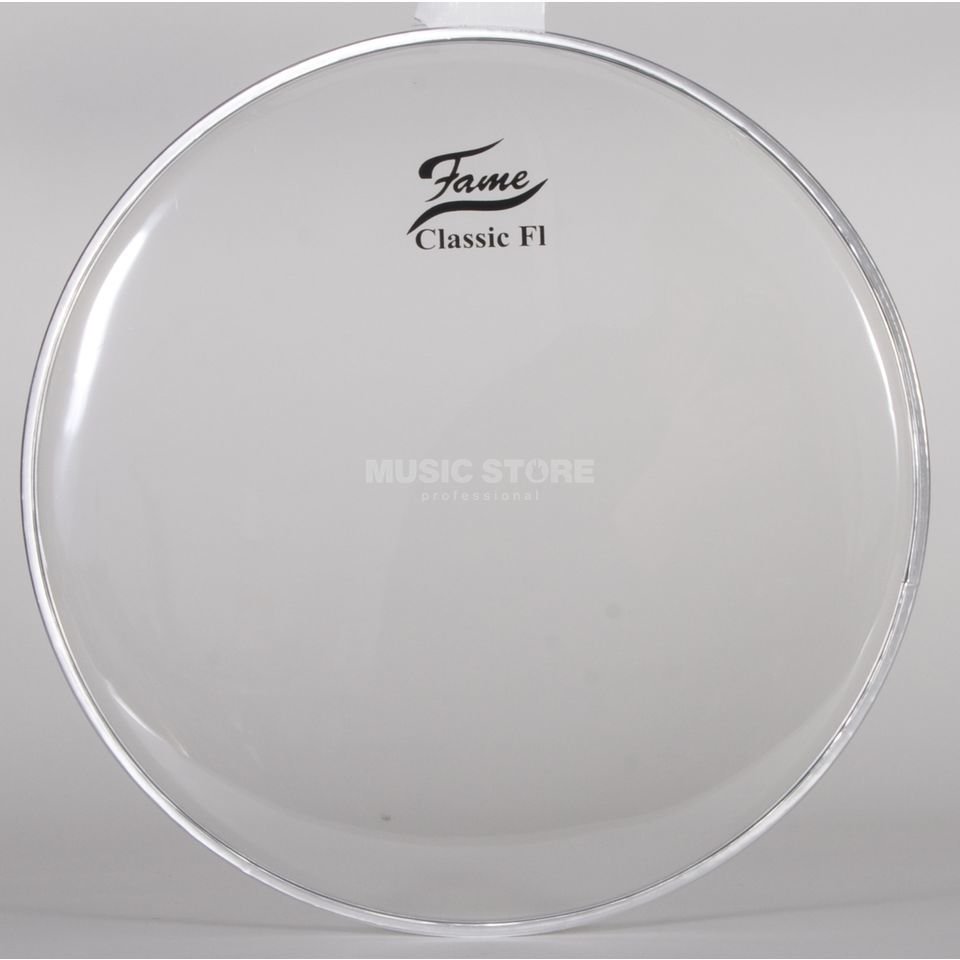 "Fame Tom Head Classic F1, 13"", clear Produktbillede"