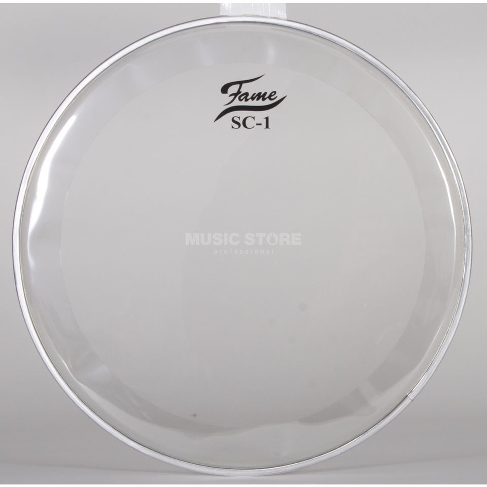 "Fame Tom Head SC1, 13"", Sound Control, clear Produktbillede"