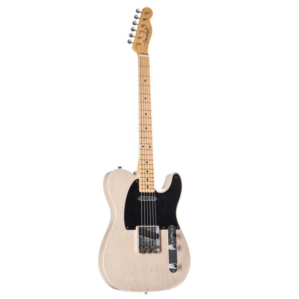 Fender 1952 Journeyman Relic Tele Dirty White Blonde Masterbuilt Paul Waller #R16165 Product Image