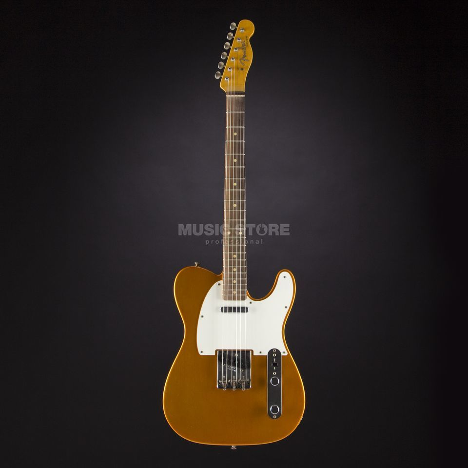 Fender 1959 Journeyman Relic Telecaster Faded Tangerine Candy #CZ525795 Productafbeelding