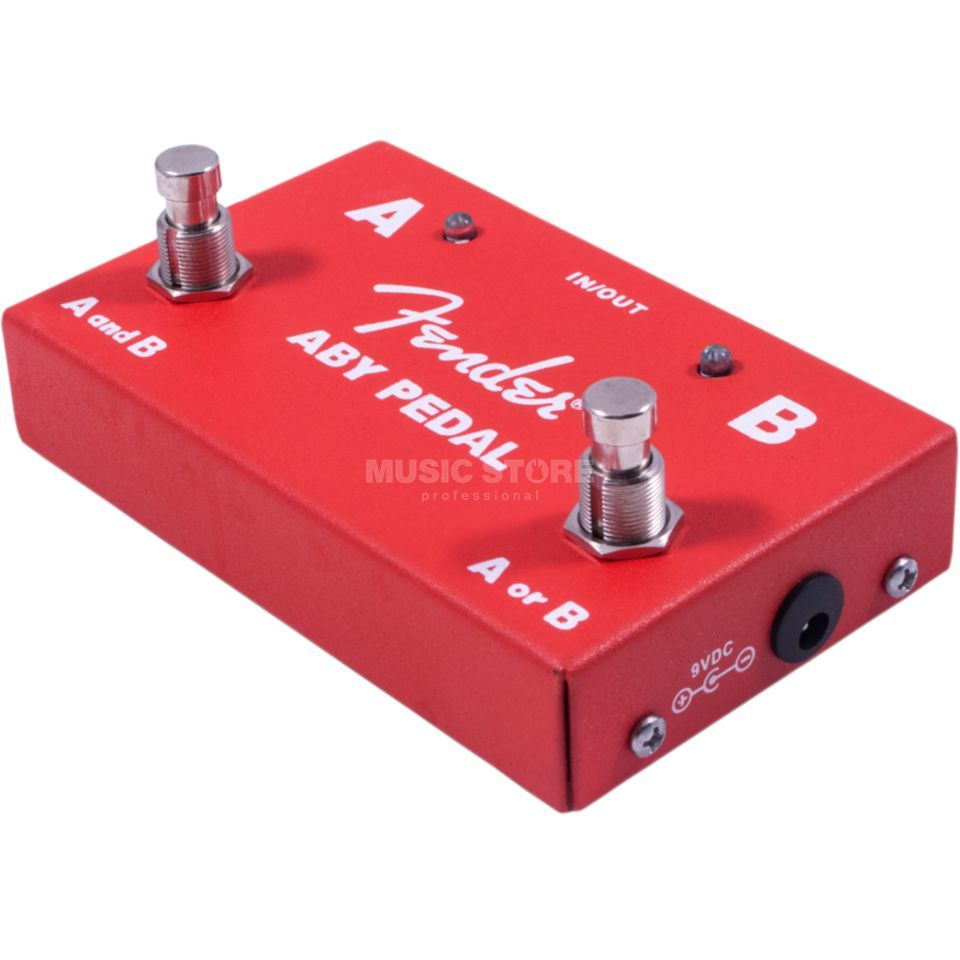 Fender 2 Switch ABY Pedal  Produktbillede