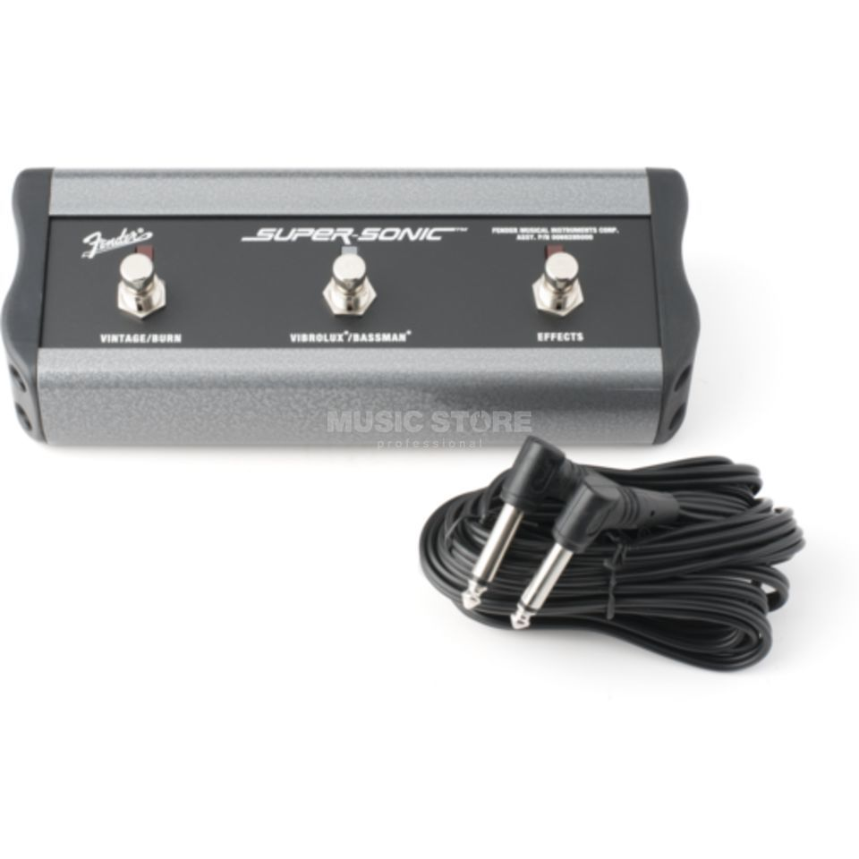 Fender 3-Button Footswitch Super-Sonic Produktbild